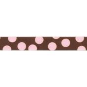 Random Dot Ribbon 2.2cm 9 Feet-Light Pink