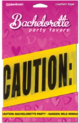 Bachelorette Party Favors Caution Party Tape