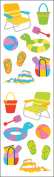 Mrs. Grossman's Stickers-Day At The Beach