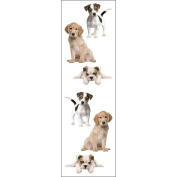 Mrs Grossman MG199-04423 Mrs. Grossmans Stickers-Precious Puppies