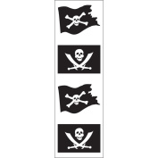 Mrs Grossman MG199-06793 Mrs. Grossmans Stickers-Jolly Roger
