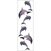 Mrs Grossman MG199-04363 Mrs. Grossmans Stickers-Dolphin Trio
