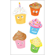 Mrs Grossman MG199-06893 Mrs. Grossmans Stickers-Cutie Cupcakes