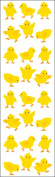 Mrs. Grossman's Stickers-Chicks