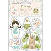 Princess Fairytale Clear Stamps 5/Pkg
