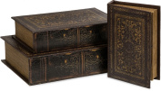Imax 1942-3 Old World Book Box Collection - Set of 3