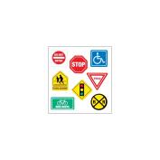 SandyLion Classpak Stickers 3/Pkg-Traffic Signs