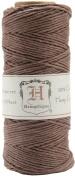 Hemptique HS20-DRKBR Hemp Cord Spool 20 No. 205 Feet-Pkg-Dark Brown