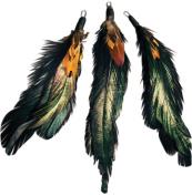 Natural Feather Picks-Natural Cocktail/Pheasant
