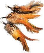 Natural Feather Picks-Badger Hackle/Pheasant