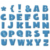 Spellbinders Grand Shapeabilities Dies, Donna's Alpha- 26 Letters, 4 Punctuation