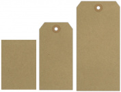 Ranger 126020 Inkssentials Brown Kraft Surfaces 20-Pkg-Tag No. 5 4.5 in. x 2.375 in.