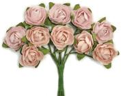 Mini Paper Blooms-Dusty Pink