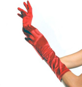 Costumes For All Occasions UA8BRD Gloves Elbow Length Red