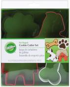 Metal Cookie Cutters 4/Pkg-Pet Theme