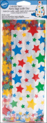 Wilton 10cm x 24cm Party Bags, Colourful Stars 20 ct. 1912-2362
