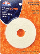 Elmers-X-Acto 484307 Elmers Foam Mounting Tape .50 in. x 150 in. -Permanent