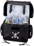 Motorcycle Trunk/Cooler Bag with Skull Medallion
