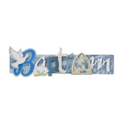 Karen Foster 431111 Baptism Stacked Statement 3-D Title Sticker