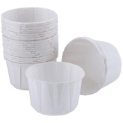 Nut & Party Cups-White 24/Pkg 100ml