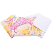 Invitations & Envelopes 8/Pkg-Birthday Princess