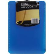 Plastic Clipboard 23cm x 32cm X.13cm -Assorted Colours
