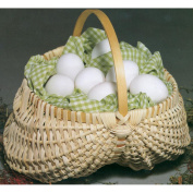 Commonwealth Basket Blue Ridge Basket Kits, Egg Basket, 18cm by, 18cm with Handle
