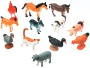 Creatures Inc.-Farm Animals 12/Pkg