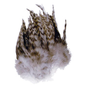Chinchilla Hackle Feathers 3 Grammes-Natural