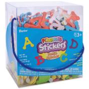 Darice Foam Stickers 150mls/Pkg-Dotty Alphabet