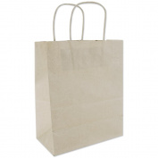 Tinted Kraft Bags Medium 20cm x 25cm X4.190cm -Oatmeal