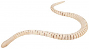 Darice 9192-09 Wood Wiggle Snake with Tag, Natural