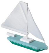 Darice 9169-04  .  m x 0mL x  .  m x 0mW Wood Sailboat Model Kit