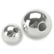 Blue Moon Value Pack Metal Beads, Silver, 160/Pkg 4mm and 6mm Round