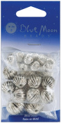 Blue Moon Value Pack Metal Beads-Antique Silver-30