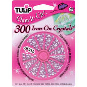 Tulip Glam-It-Up! Iron-On Crystals 300/Pkg-Crystal