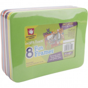 "Fibre Craft 4193259 Foam Frames 3.5""X5.5"" Rectangle"