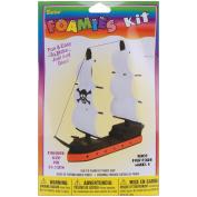 3-D Foam Kit-Pirate Ship