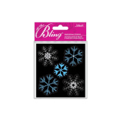 Bling Stickers-Snowflakes