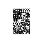 Karen Foster Design KF10945 Alphabet Cardstock Stickers 5.5X9 Sheet