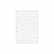 Karen Foster Design KF10948 Alphabet Cardstock Stickers 5.5X9 Sheet