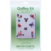 Lake City Craft Q297 Quilling Kit Flowers/Butterflies