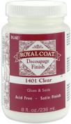 Royal Coat Satin Decoupage Finish - Clear-8 Ounce