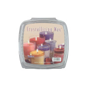 Yaley Crystallising Candle Wax, 0.5kg, Glass Containers