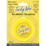 Yaley 110004 Tacky Wax 1 oz. Candle Wax Adhesive