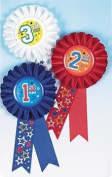 Award Ribbons 15cm 3/Pkg-1st, 2nd & 3rd Place