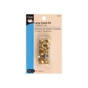 Dritz 659-35 Eyelet Kit-Brass