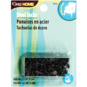 Upholstery Steel Tacks 1cm 45mls-Black