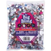 Darice The Big Bling Hearts, Stars, And Round Rhinestone Value Pack