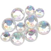 Darice The Big Bling Round Crystal Rhinestone Value Pack